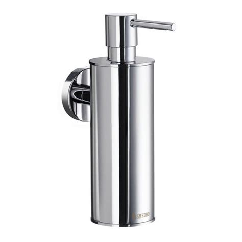 brushed chrome bathroom accessories bathroom accessories home wall mount soap dispenser