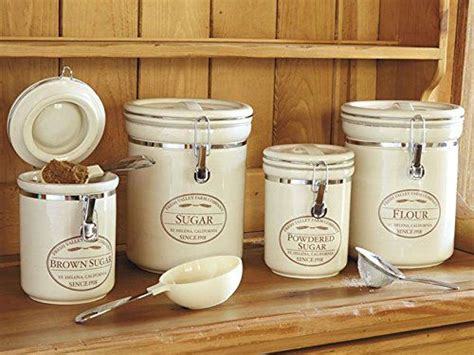 kitchen canisters flour sugar 25 best ideas about flour storage on flour