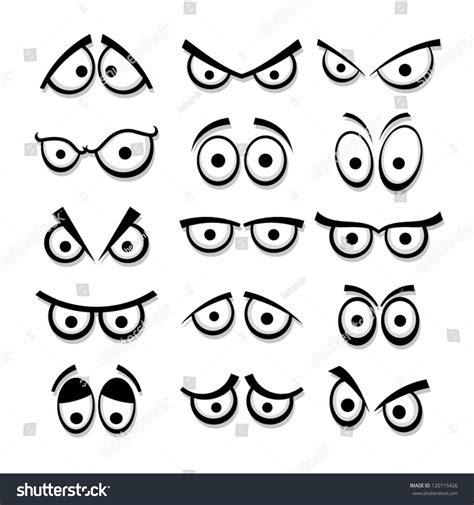 Car Wired Frog Eye View set stock vector 120115426
