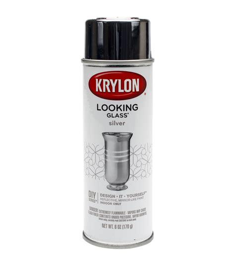 spray paint on looking glass aerosol spray paint 6oz jo