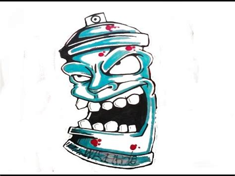 graffiti character spraycan requested youtube