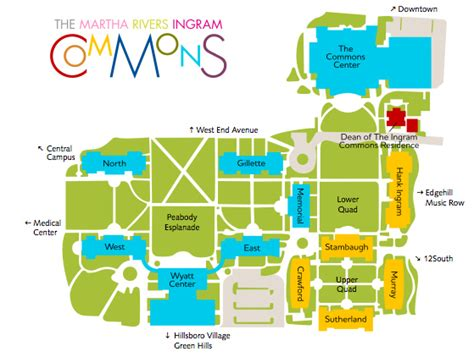 vanderbilt commons floor plans the houses the commons vanderbilt university