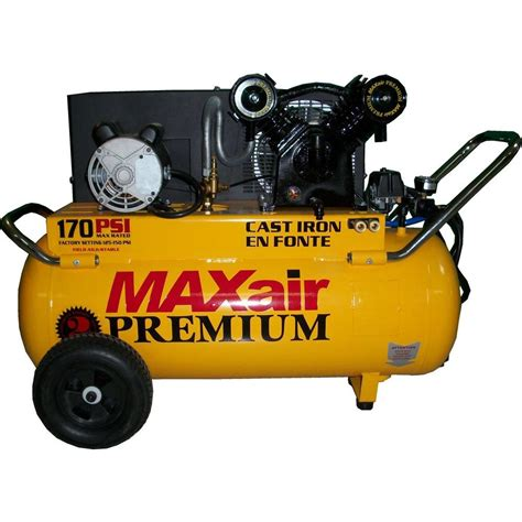 maxair 25 gal portable electric powered air compressor p4125h1 map the home depot