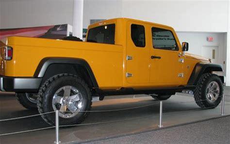 jeep gladiator 4 door jeep gladiator 4 door truck coming in 2013