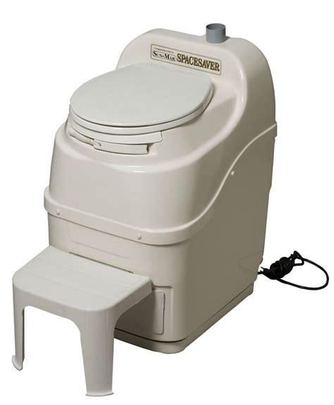 Composting Toilet Home Depot by Sun Mar Spacesaver Electric Composting Toilet In Bone