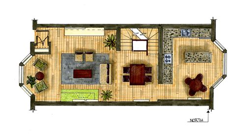 hand rendering reilly englehart apartment floor plan idolza
