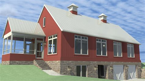 House Plans With Daylight Walkout Basement cottage country farmhouse design modern farmhouse home