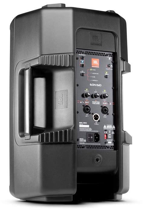 Speaker Jbl 10 jbl eon610 10 inch 2 way powered speaker pssl