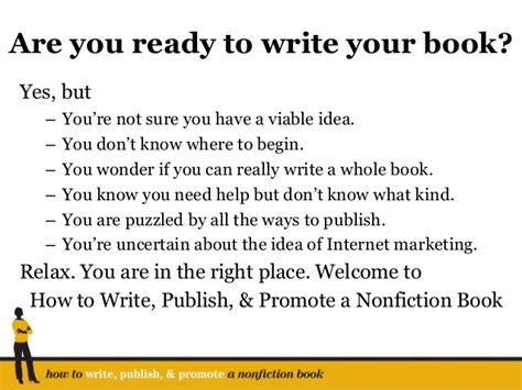 how to write a novel and get it published a small steps guide books ready to write your nonfiction book you are in the right