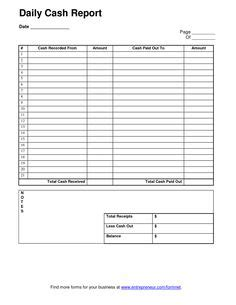 daily checks index card template daily sheet template count sheet audit