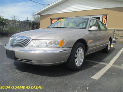 how to sell used cars 2000 lincoln continental head up display buy used 2000 lincoln continental in 18638 us 19 hudson florida united states for us 3 499 00