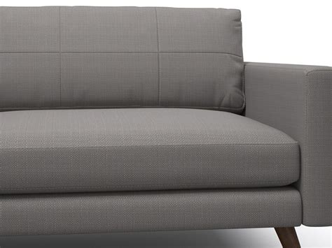 one arm sofa with chaise dane 94 quot one arm sofa with chaise viesso