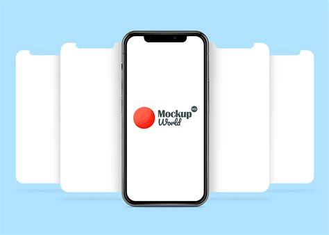iphone  app  mock  frees mockup world hq