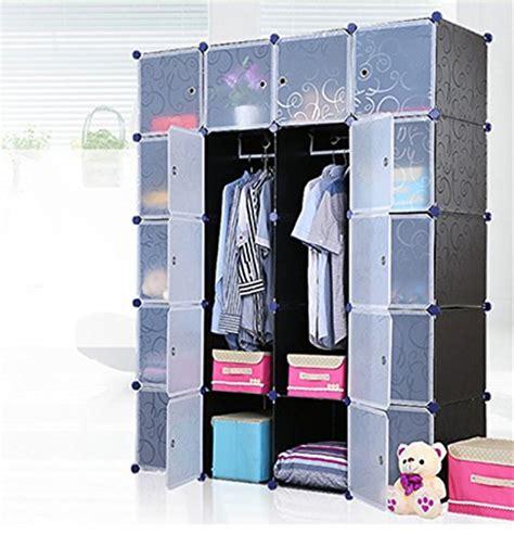 Plastic In Closet by Unicoo Multi Use Diy Plastic 20 Cube Organizer Bookcase Storage Cabinet Wardrobe Closet