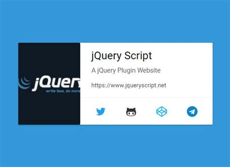 card layout js material design vcard with jquery and css3 mcard free