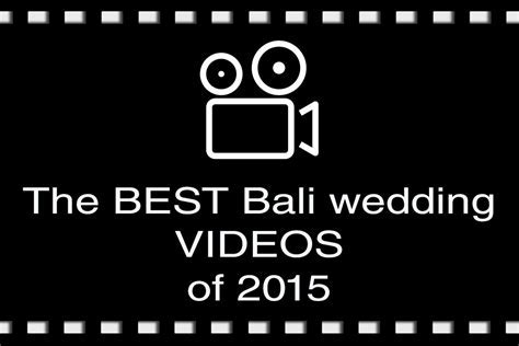 Best Bali Wedding Videos 2015i   Bali Wedding Blog