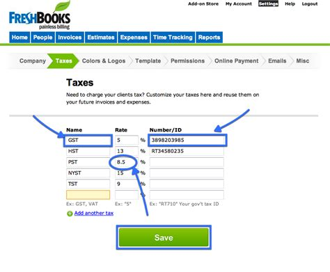 When Do You Get Your Tax Credit Award Letter Freshbooks Settings Gt Taxes