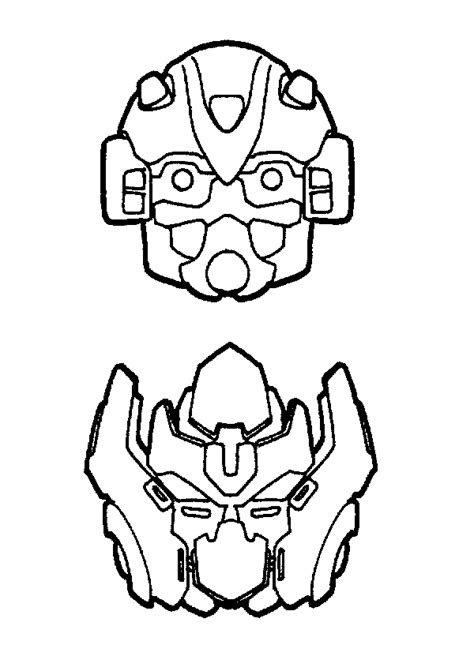 printable bee mask template transformers coloring pages picgifs com