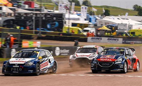 volkswagen great britain valuable points at world rx of gb for volkswagen rx sweden