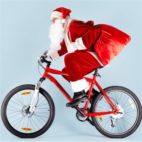 santa on a bike coalville wheelers cycling club