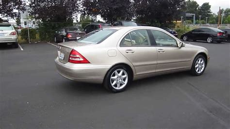 2002 c240 mercedes 2002 mercedes c240 gold stock 731007
