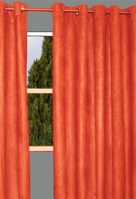 curtains with orange burnt orange shower curtain furniture ideas