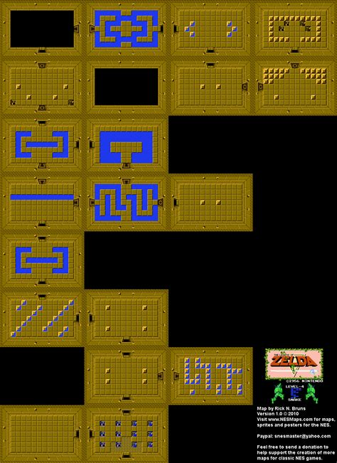 legend of zelda map quest 1 the legend of zelda level 4 snake quest 1 map bg