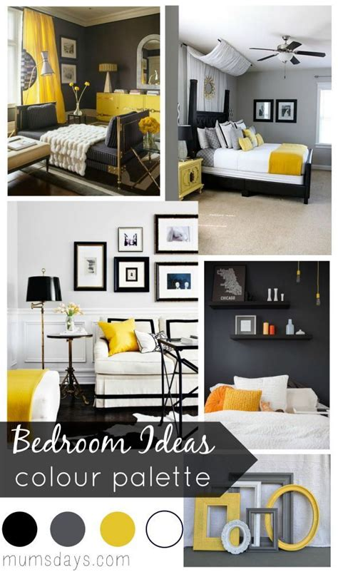 Yellow Black Bedroom by 25 Best Ideas About Black Master Bedroom On