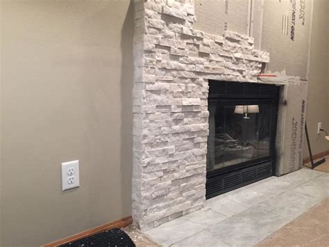 veneer fireplace installation fireplace designs