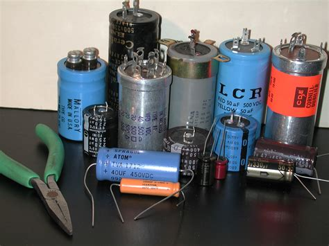 what are large capacitors used for rap on replacing electrolytic capacitors