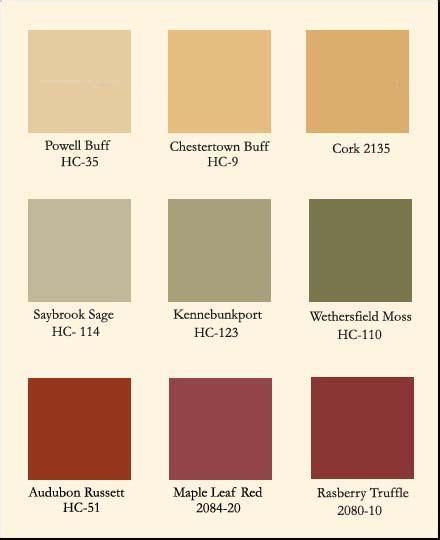 Benjamin Moore Historical Colors | Car Interior Design Hc110