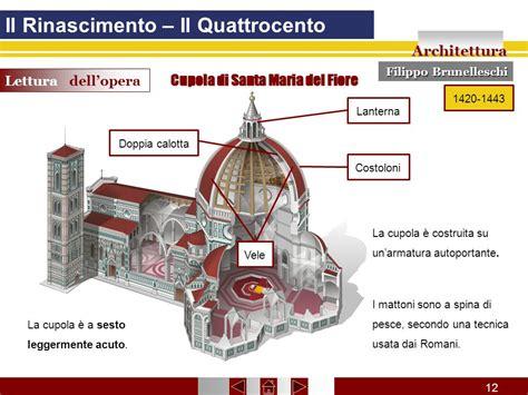 cupola santa fiore il rinascimento il quattrocento ppt scaricare
