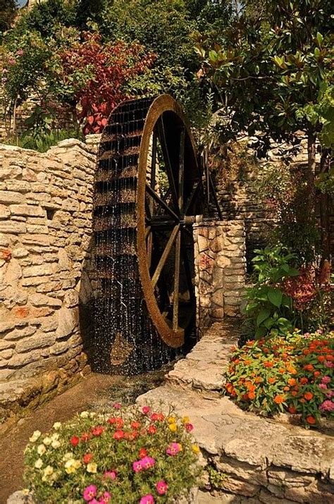 backyard water wheel water wheel yard ideas pinterest