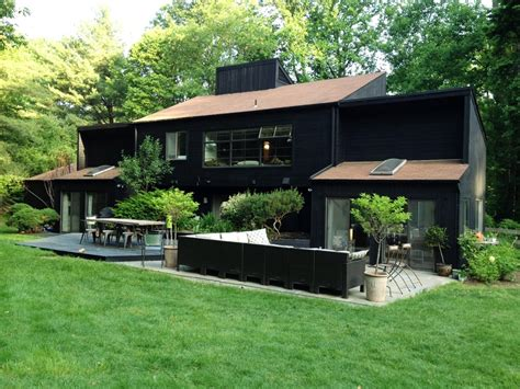 black painted house black painted house inspiration jessica color simple design black painted house
