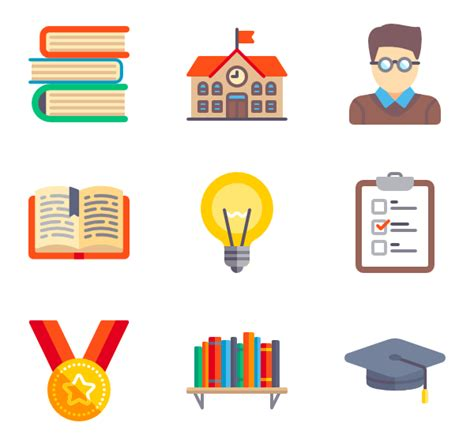 design graphics pack 231 education icon packs vector icon packs svg psd