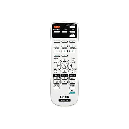 Remote Epson Projector epson replacement projector remote by office depot