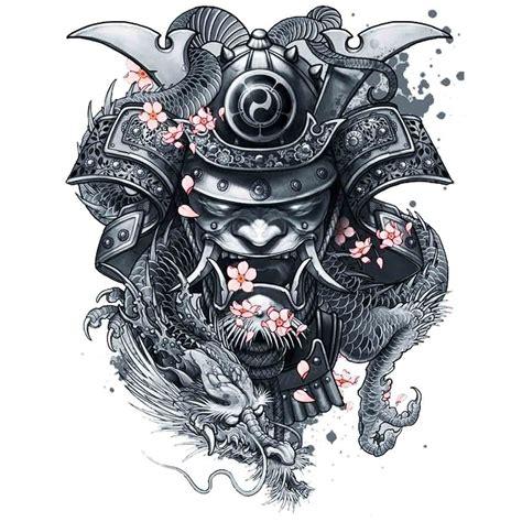 tatoo temporaire samoura 239
