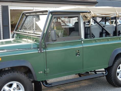 land rover defender 110 convertible 1994 land rover defender 110 convertible for sale