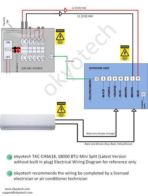 wiring diagram of split type aircon efcaviation
