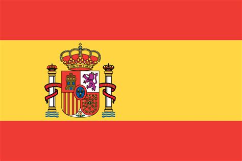 Flag Of Spain Printable Flags Printable Spain Flag