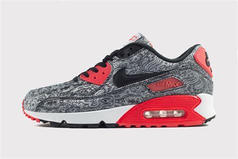 Nike Airmax9 0 Motif nike air max 90 quot paisley infrared quot date de sortie