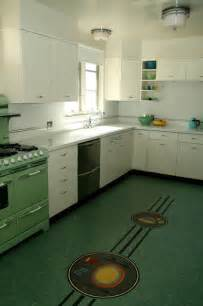 retro kitchen flooring ideas retro midcentury kitchen los angeles by crogan