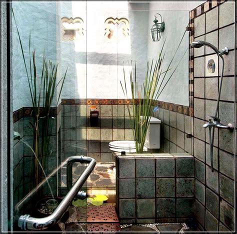 desain kamar mandi minimalis natural contoh desain kamar mandi natural terbaik renovasi rumah net