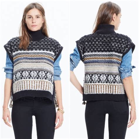 Side Rope Sweater by 53 Madewell Sweaters Madewell Fair Isle Side Tie