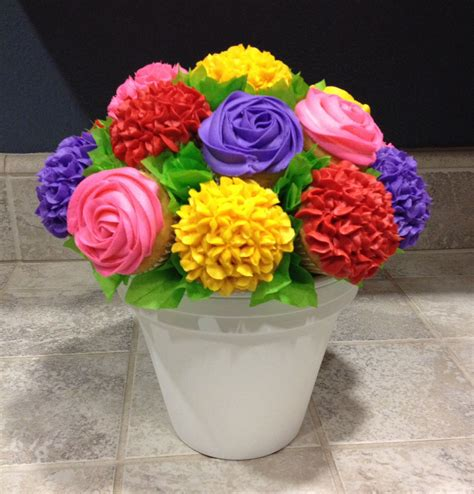 colorful cupcakes colorful cupcake bouquet cupcake creations