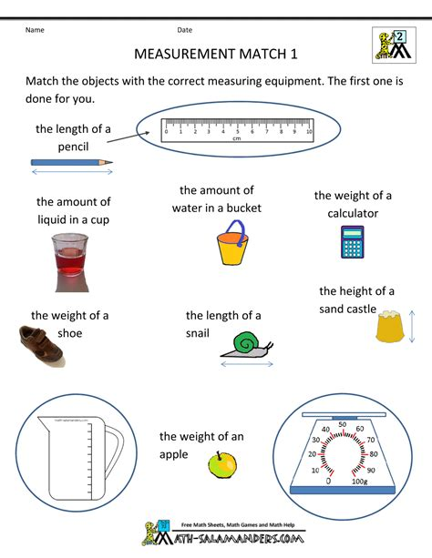 measurement worksheet 6th grade search results