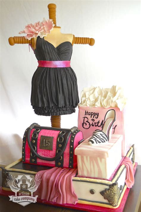 happy birthday fashion design sculpted cakes artisan cake company