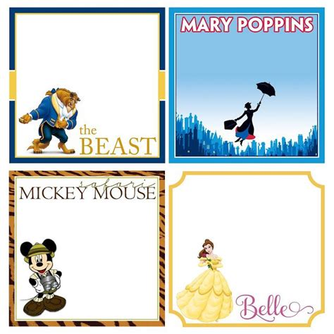 disney world autograph book template 452 best images about disney planning binder on