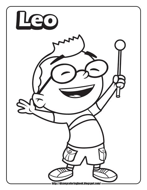 little einsteins 1 free disney coloring sheets