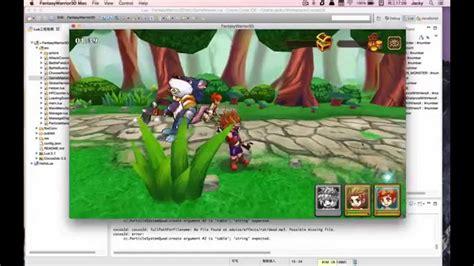 membuat game dengan cocos2d x cocos2d x 3d opensource demo fantasy warrior 3d youtube